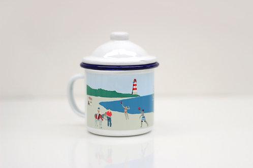 Weekend Explorer | Beach Enamel Mug