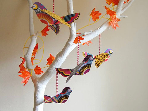 DIY Little Birds Decoration Packs