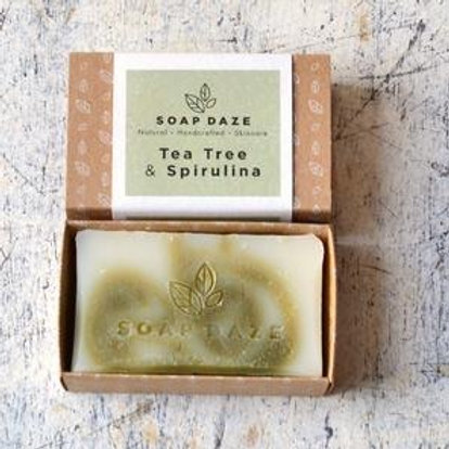 Tea Tree & Spirulina Natural Soap