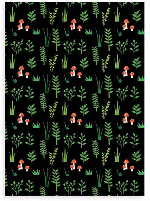 Woodland Plants Postcard