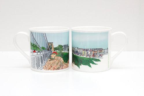Sion Hill Bone China Mug