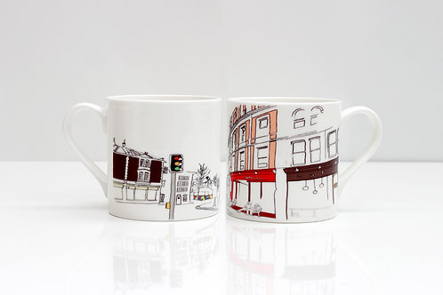 Stokes Croft Bone China Mug