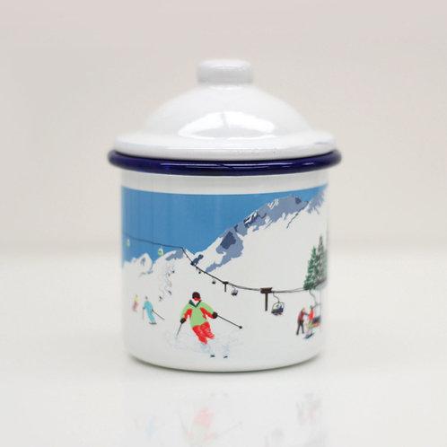 Weekend Explorer | Ski Enamel Mug