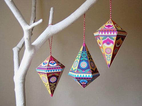 DIY Folk Gems Decoration Packs