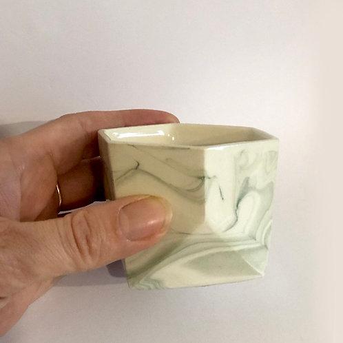 Tri Mini Pot - Green