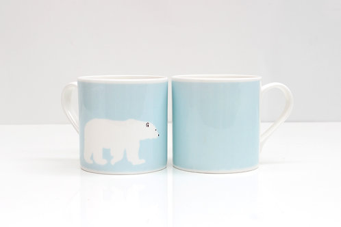 Polar Bear Bone China Mug