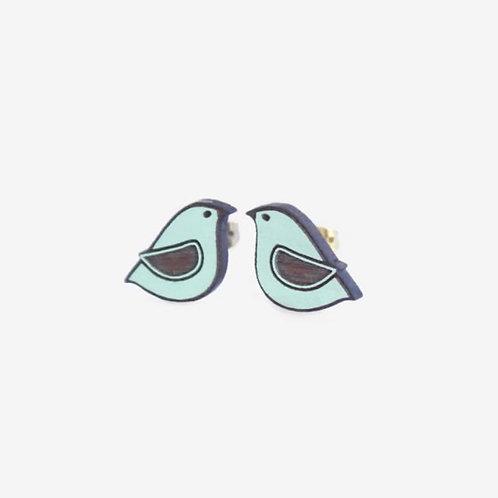 Blue Dove Earrings