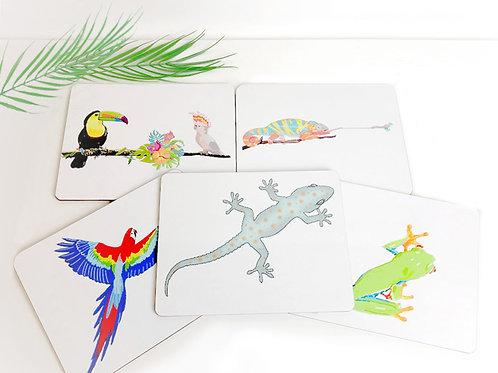 Set of Jungle Placemats