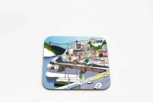 Bristol Views Coaster