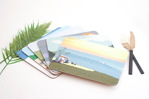 Set of Weekend Explorer Placemats