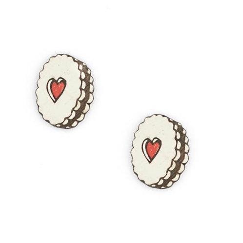 Jammie Dodger Earrings