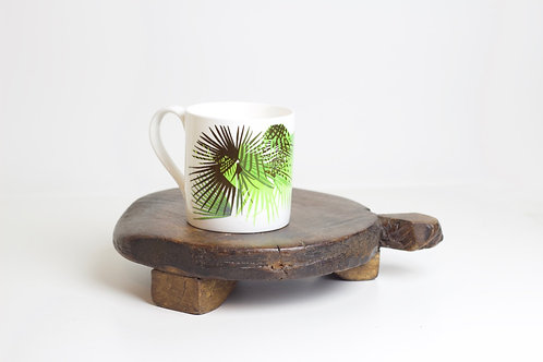 Cabbage Leaf Bone China Mug
