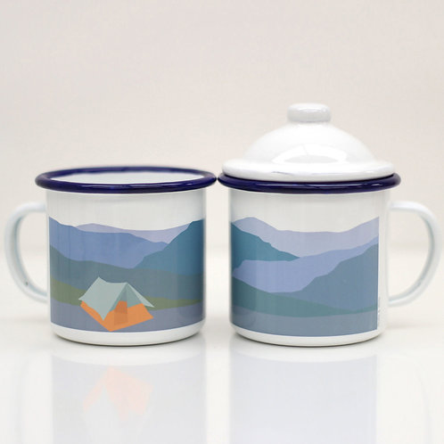 Weekend Explorer | Tent Enamel Mug