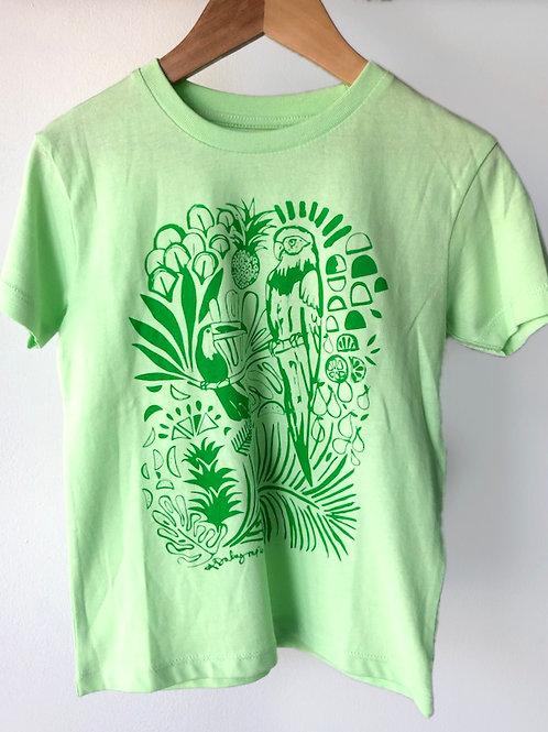 Jungle kids organic T-shirt
