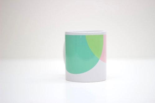 Pink | Green Ceramic Mug