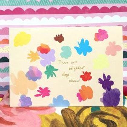 Brighter days ahead, Card