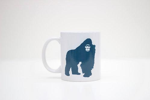 Grumpy Gorilla Ceramic Mug