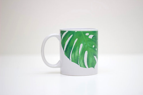 Cheese Leaf Ceramic Mug