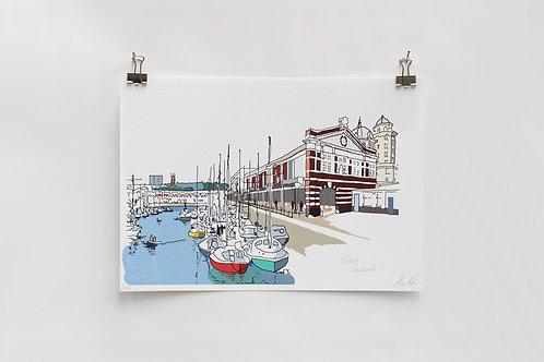 Bristol Harbourside Digital Print
