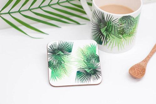 Cabbage Leaf Coaster