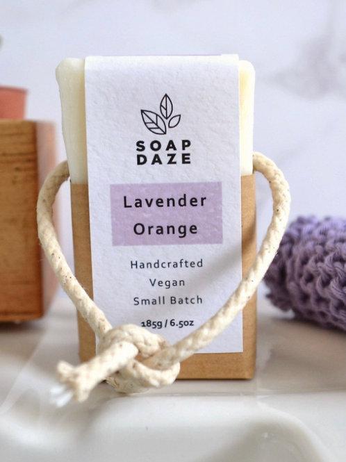 Lavender & Orange Soap on a Rope