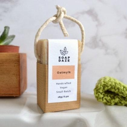 Oatmylk Soap on a Rope, Vegan Soap