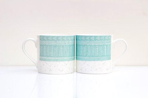 Sea Bone China Mug
