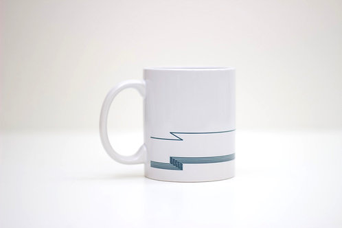 Waves Ceramic Mug
