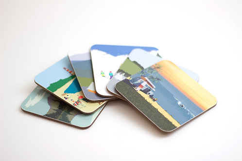 Set of Weekend Explorer Coasters