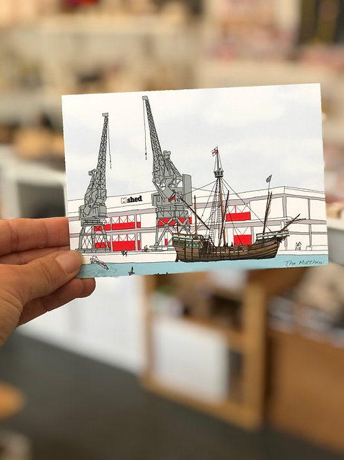 The Bristol Matthew Postcard