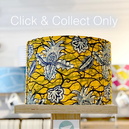 African Pineapple Print Lampshade