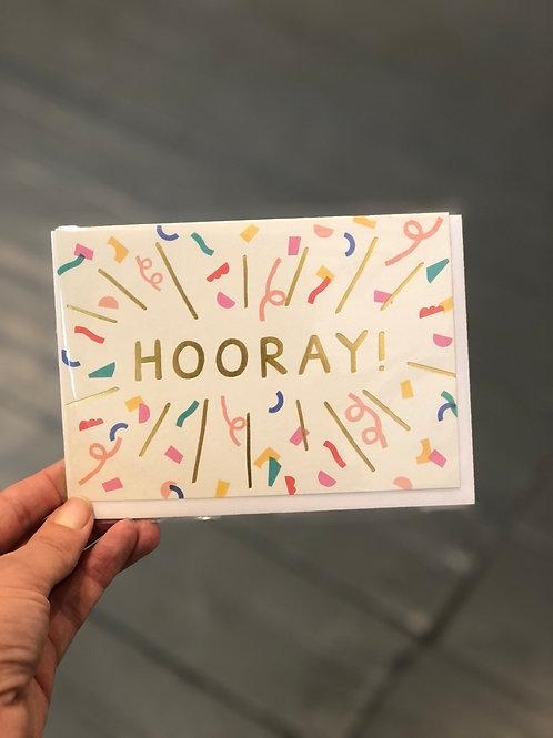 Hooray! Card