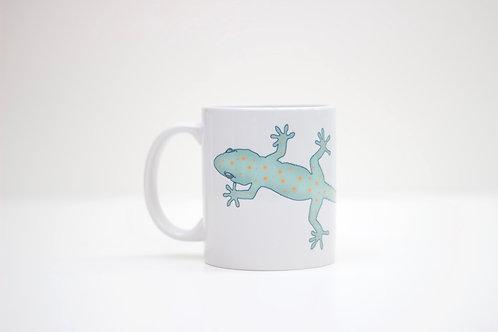 Gecko Ceramic Mug