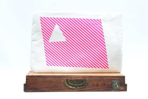 Pink Geometric Laoptop Sleeve