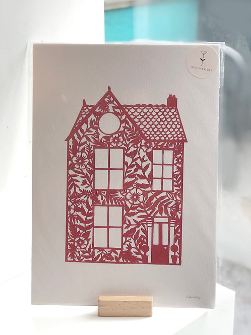 Red House Print