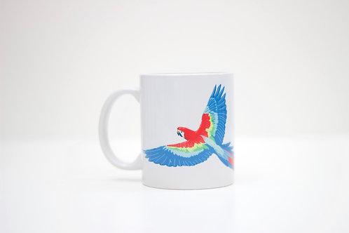 Parrot Ceramic Mug