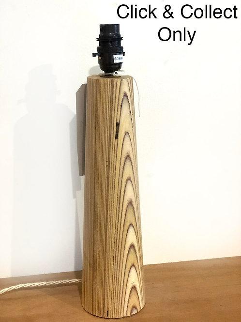 Large Shaped Wooden lamp base
