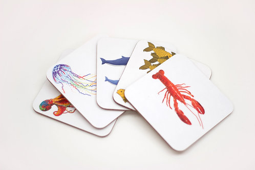 Set of Underwater Coasters