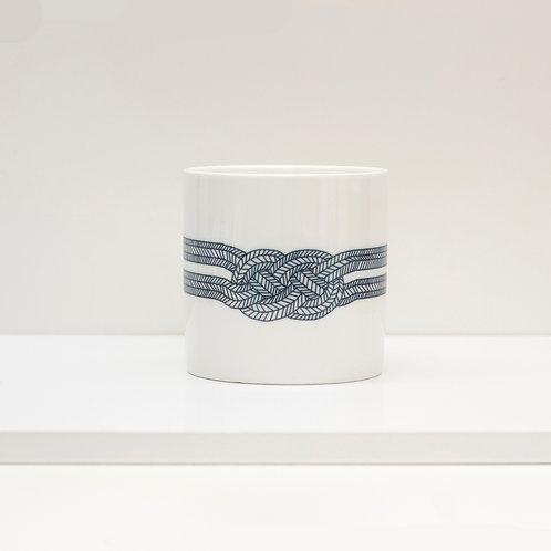 Dazzle Knot Bone China Mug