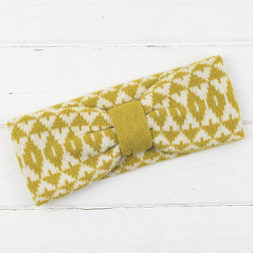 Knitted Headband - Mustard