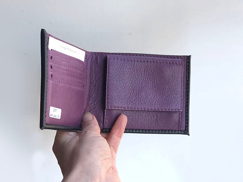 Black Nappa Pop Coin Pocket