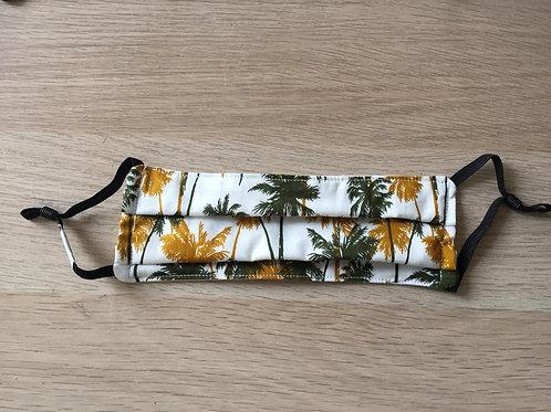 Facemask - Sage & Mustard Palm