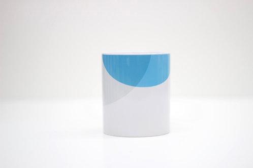 Blue | Grey Ceramic Mug