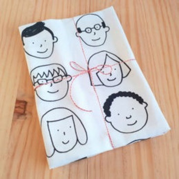 Tea Towel for happy people