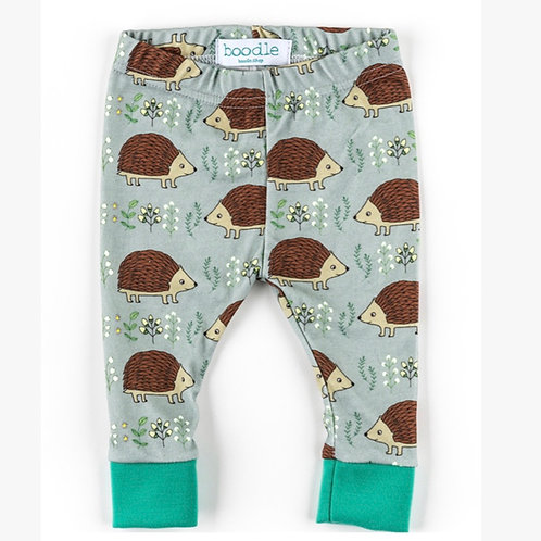 Hedgehog organic baby leggings