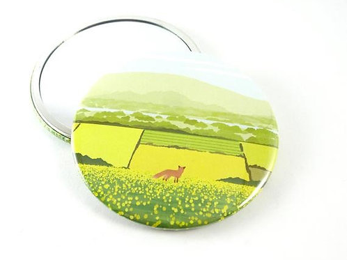 Summer View Mirror Pocket Mirror