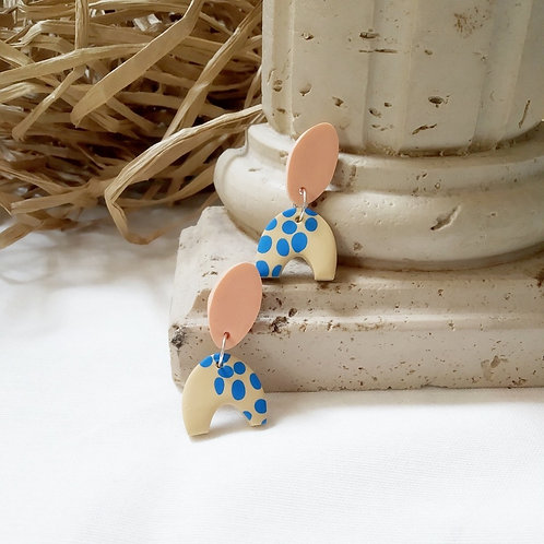Pebble Dangle Earrings