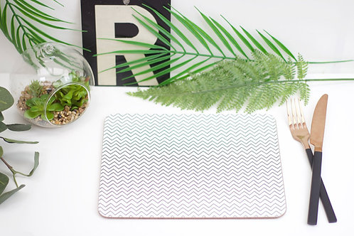 Monochrome Chevron Placemat