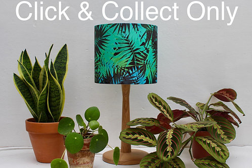 Tropical Print Lampshade