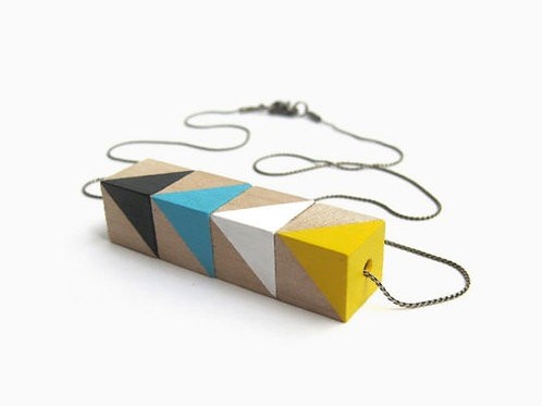Circus Necklace - Yellow